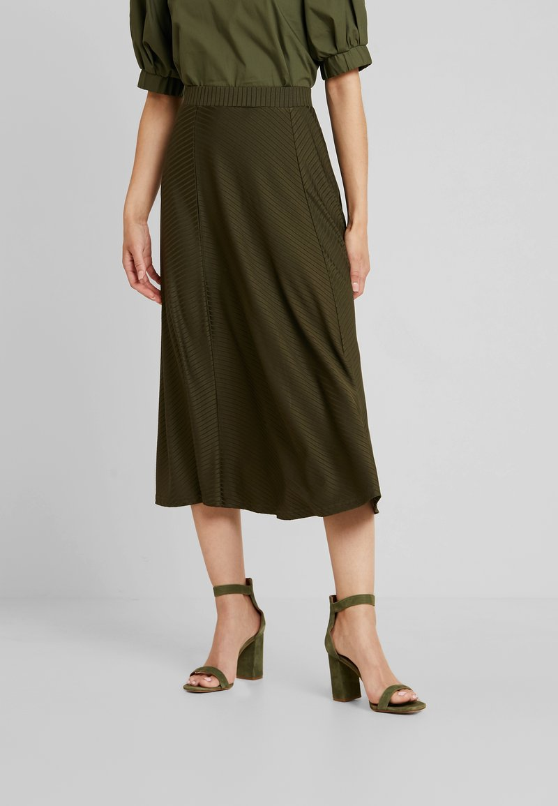 mint&berry - Maxi skirt - olive night