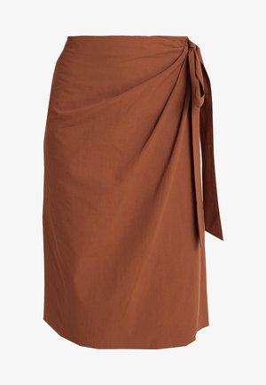 A-linjekjol - brown