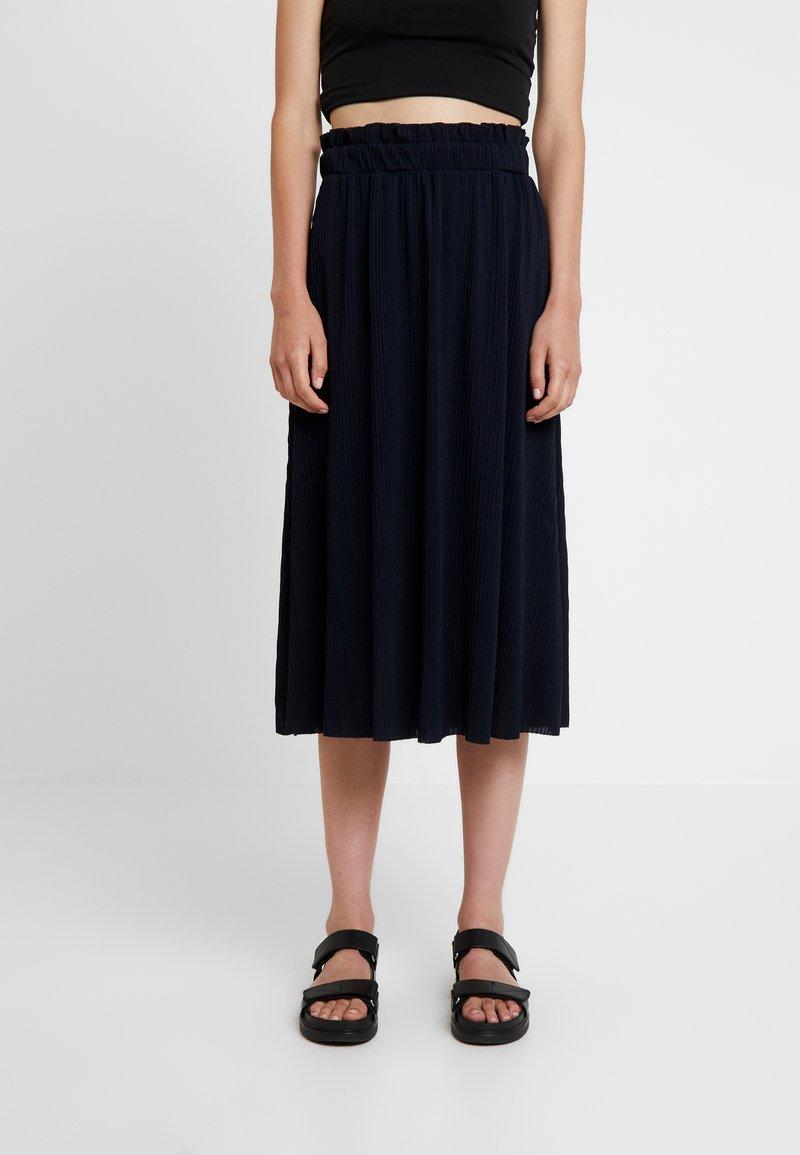 mint&berry - A-line skirt - dark blue