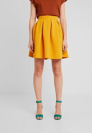 A-line skjørt - golden yellow