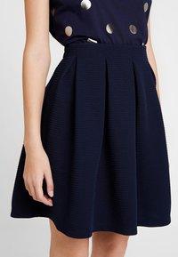 mint&berry - A-line skirt - maritime blue - 4