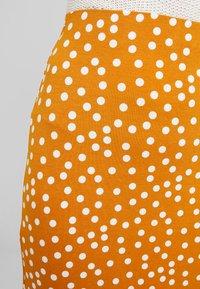 mint&berry - Pencil skirt - yellow/white - 4
