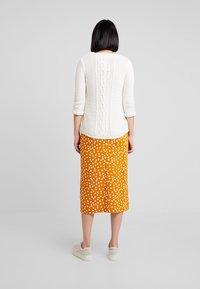 mint&berry - Pencil skirt - yellow/white - 2