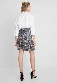 mint&berry - A-line skirt - maritime blue - 3