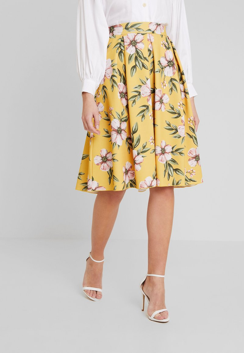 mint&berry - A-snit nederdel/ A-formede nederdele - yellow