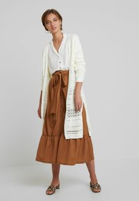 mint&berry - A-line skirt - brown - 1