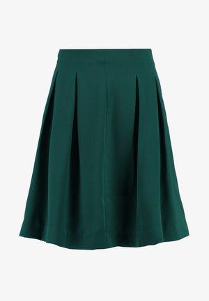 Áčková sukně - green