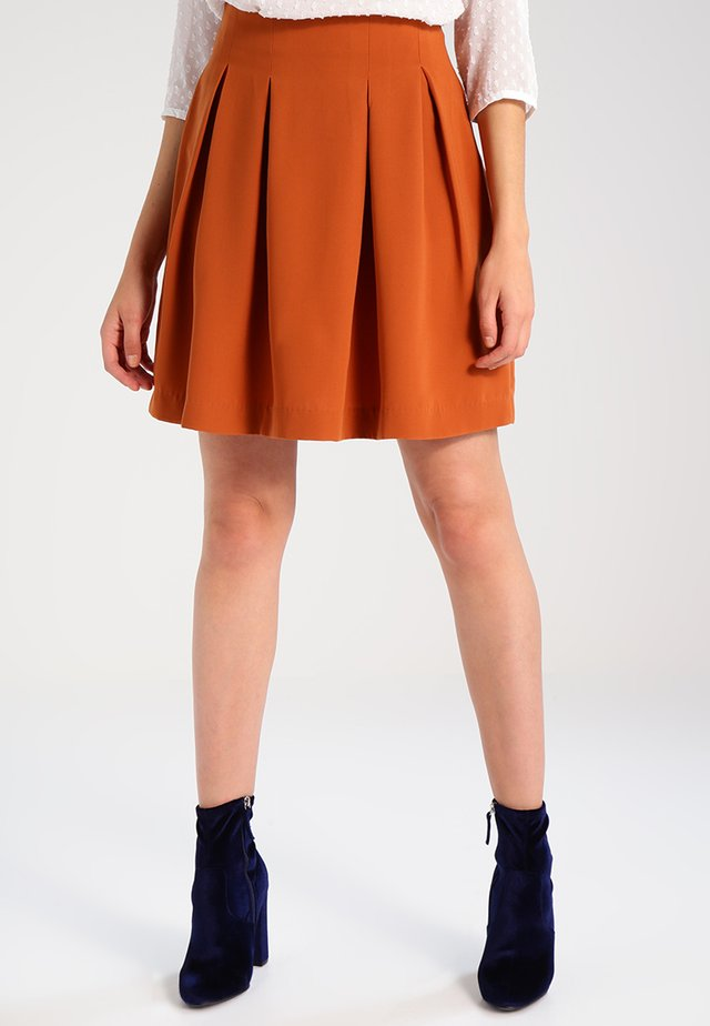 A-line skirt - ginger bread