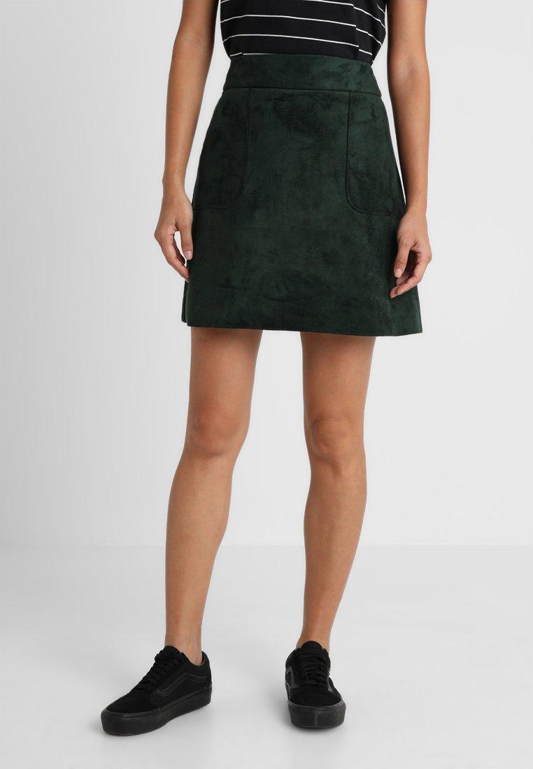 mint&berry - Jupe trapèze - dunkelgrün