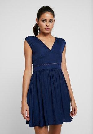 Robe d'été - medieval blue