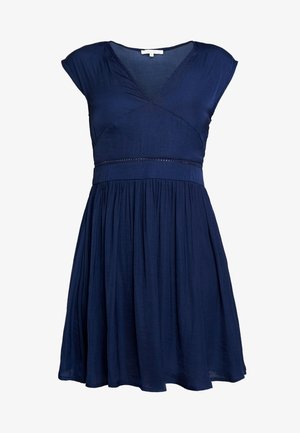 Sukienka letnia - medieval blue
