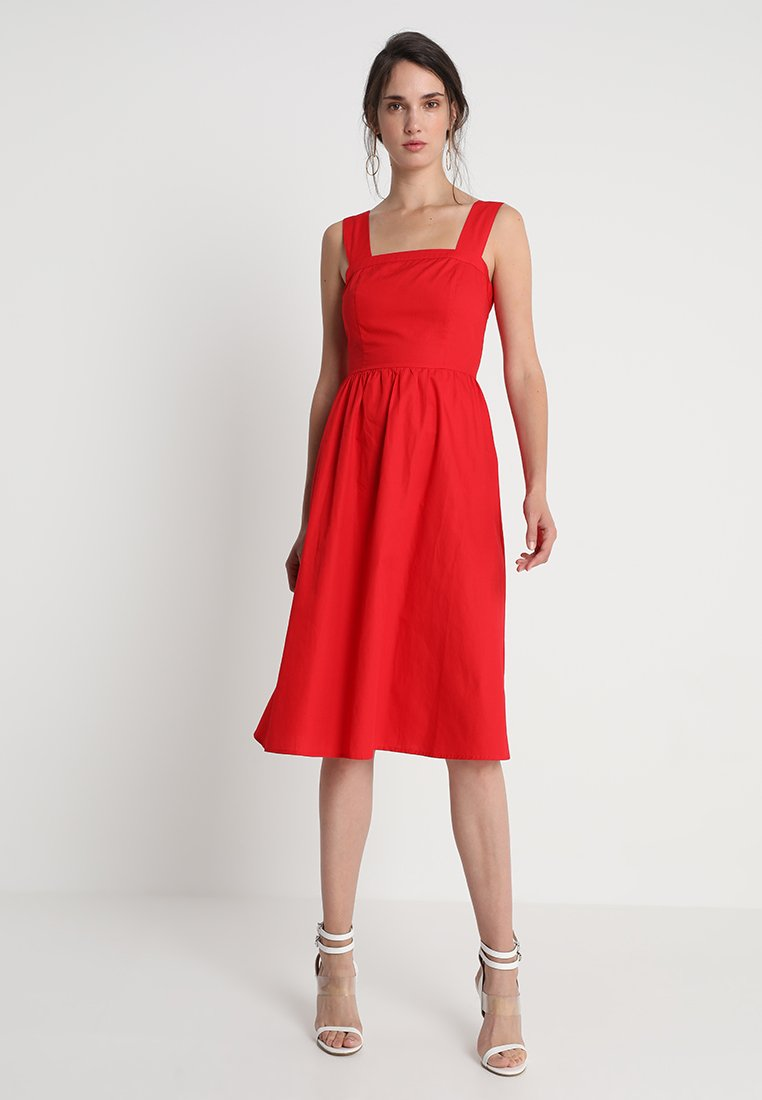 mint&berry - Vestido informal - chinese red