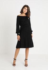 mint&berry - Jumper dress - black - 0