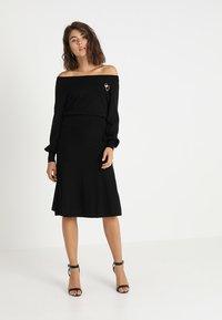 mint&berry - Jumper dress - black - 2