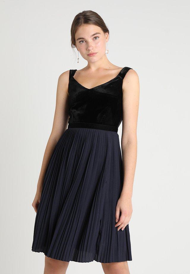Cocktail dress / Party dress - blue/black