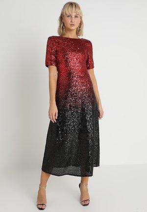 Společenské šaty - red/black