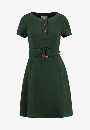 Košilové šaty - kombu green