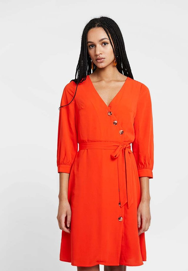Abito a camicia - orange