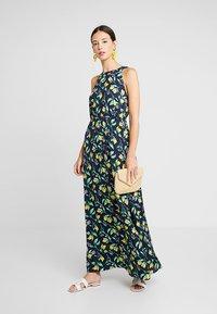 mint&berry - Maxi dress - yellow/dark blue - 1
