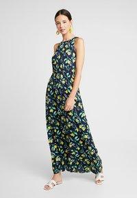 mint&berry - Maxi dress - yellow/dark blue - 0
