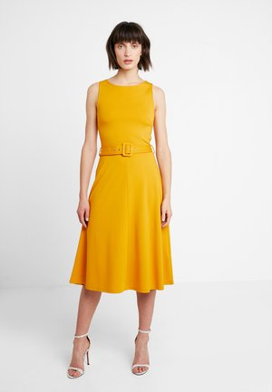 Day dress - dark yellow