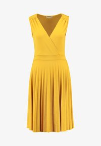 mint&berry - Jersey dress - golden yellow - 4