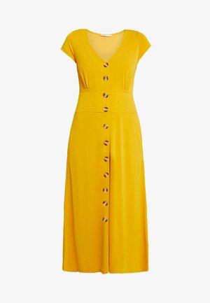 Maxikleid - golden yellow