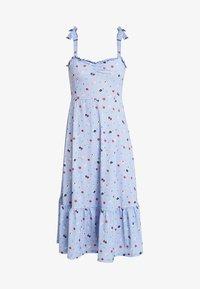 mint&berry - Maxi dress - white/blue - 4