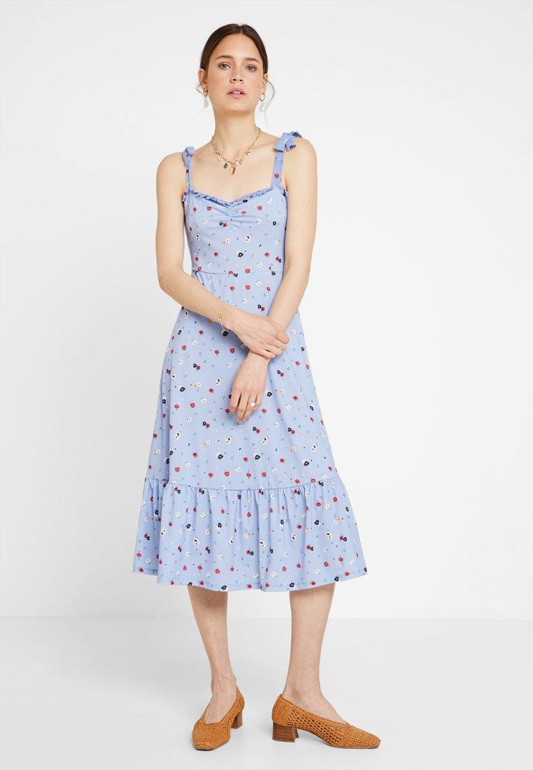 mint&berry - Maxi dress - white/blue