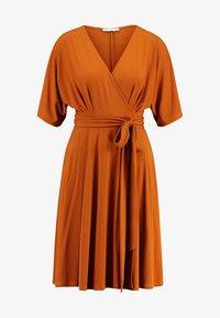 mint&berry - Jersey dress - caramel cafe - 4