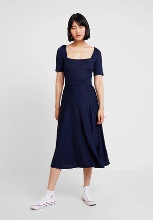 Jersey dress - maritime blue