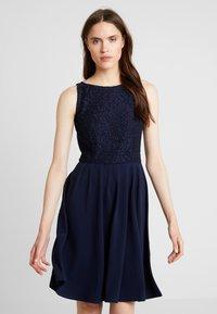 mint&berry - Jersey dress - maritime blue - 0