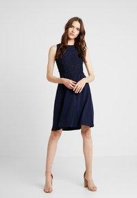 mint&berry - Jersey dress - maritime blue - 1