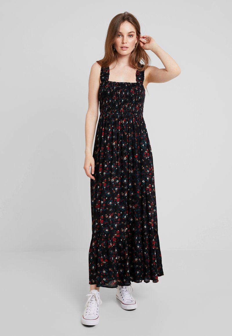 mint&berry - Maxikleid - black/multi-coloured