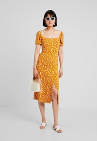 mint&berry - Jersey dress - yellow/white - 1