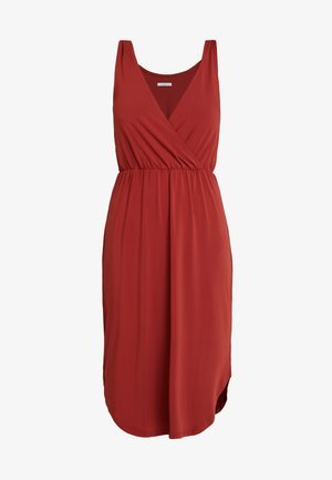 Robe en jersey - red ochre