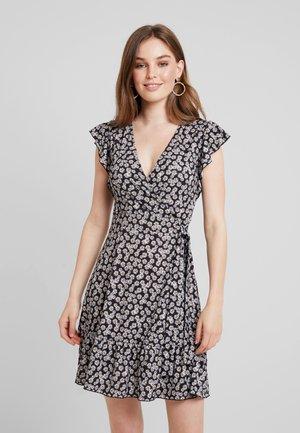Sukienka z dżerseju - black / white