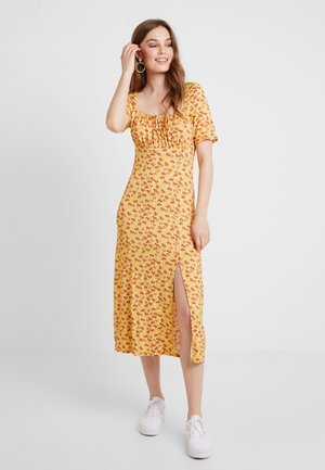 Maxi dress - red/yellow