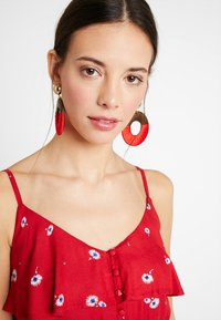 mint&berry - Robe longue - red - 4