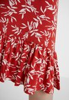 mint&berry - Jersey dress - white/red