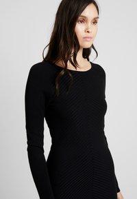 mint&berry - Strikket kjole - black - 4