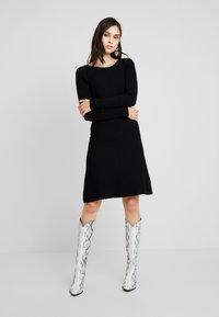 mint&berry - Strikket kjole - black - 0