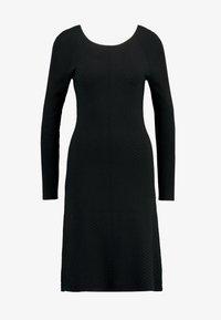 mint&berry - Strikket kjole - black - 3