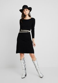 mint&berry - Strikket kjole - black - 1