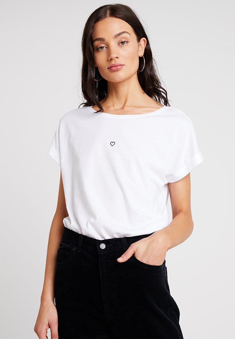 amp;berry T shirt T Mint ImpriméWhite ImpriméWhite shirt Mint amp;berry T shirt Mint amp;berry CsrthQd
