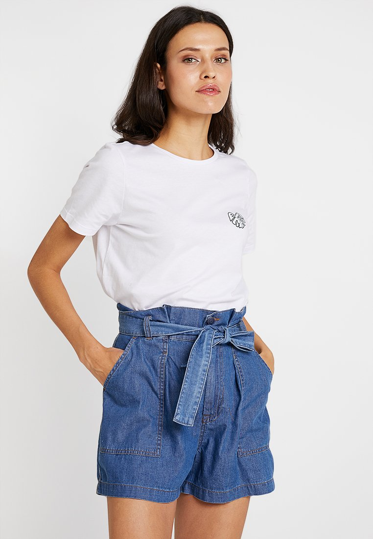 mint&berry - Print T-shirt - bright white