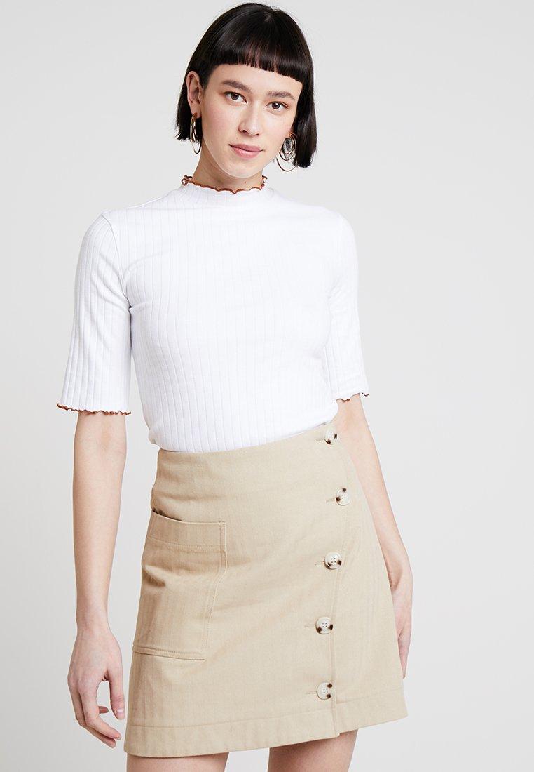 mint&berry - Print T-shirt - white