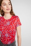mint&berry - Print T-shirt - red/blue