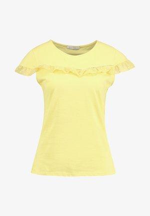 T-shirts med print - primrose yellow