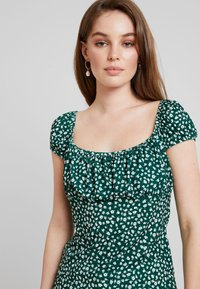 mint&berry - Print T-shirt - white/green - 5